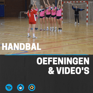 Handbal oefeningen en video's