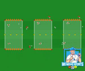 Chaosdoelenspel voetbal