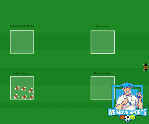 Het stadionspel met bal