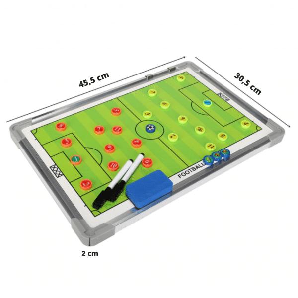 Tactiekbord voetbal