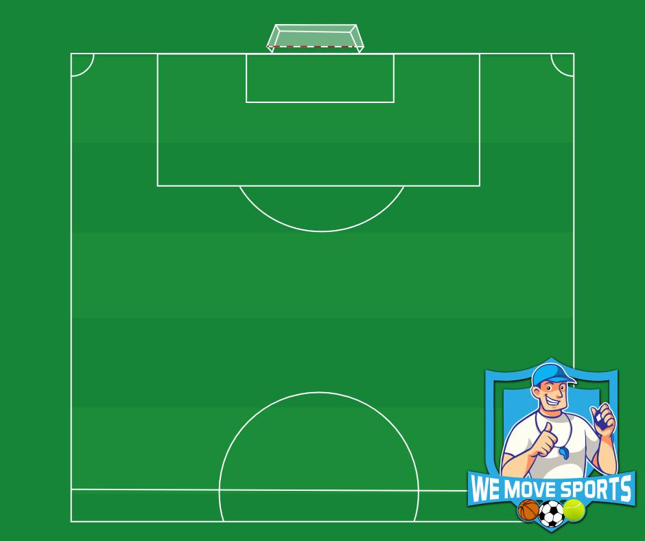 Voetbal - Half veld